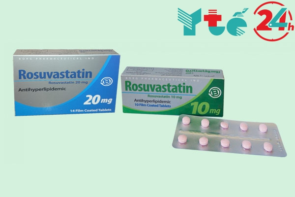 Giá thuốc Rosuvastatin 10mg