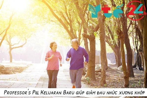 Công dụng của Professor's Pill Keluaran Baru