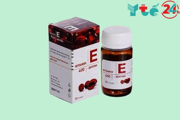 Cách dùng phù hợp của Vitamin E đỏ của Nga