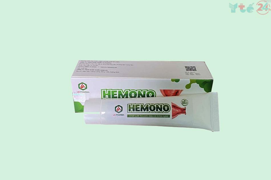 Kem bôi trĩ Hemono gel