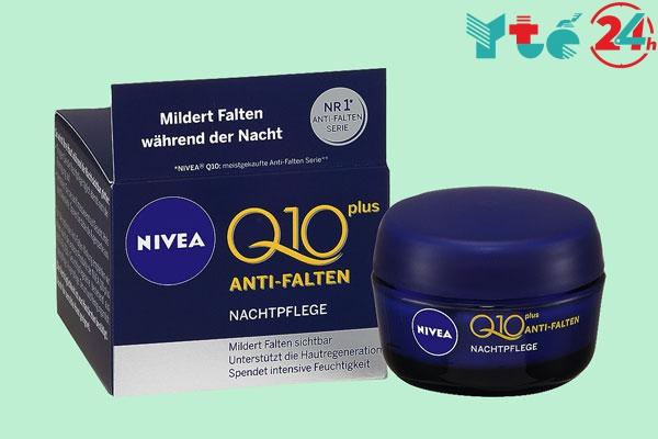 Kem dưỡng da chống lão hóa Nivea Visage Q10 plus Anti Falten