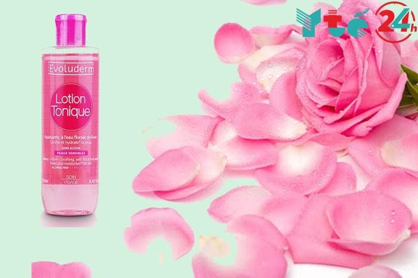 Lotion hoa hồng evoluderm