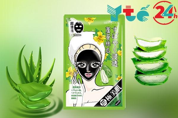Mặt nạ SexyLook xanh lá cây (Dưỡng ẩm sâu và phục hồi da)