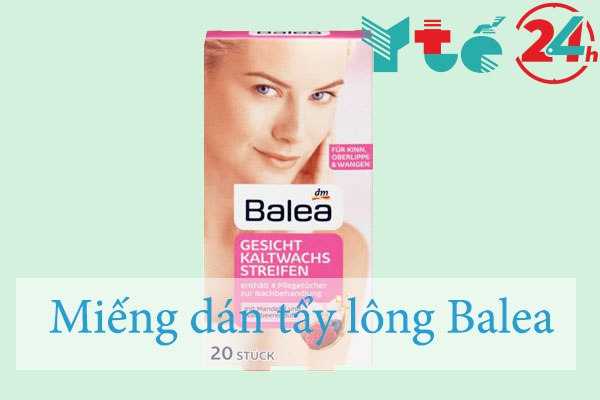 Miếng dán tẩy lông Balea