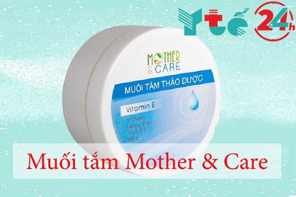 Muối tắm thảo dược Mother & Care