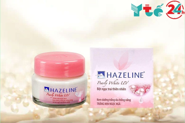 Kem dưỡng trắng da ngọc trai Hazeline