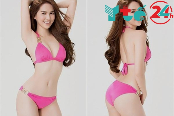 Hình ảnh Ngọc Trinh mặc bikini nóng bỏng