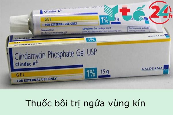 Thuốc bôi trị ngứa vùng kín an toàn