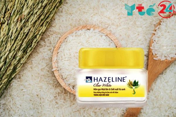Kem dưỡng da mặt Hazeline Clear White mầm gạo Nhật Bản