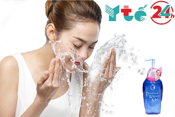 Cách sử dụng nước tẩy trang Senka