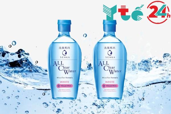 Nước tẩy trang Senka All Clear Water White