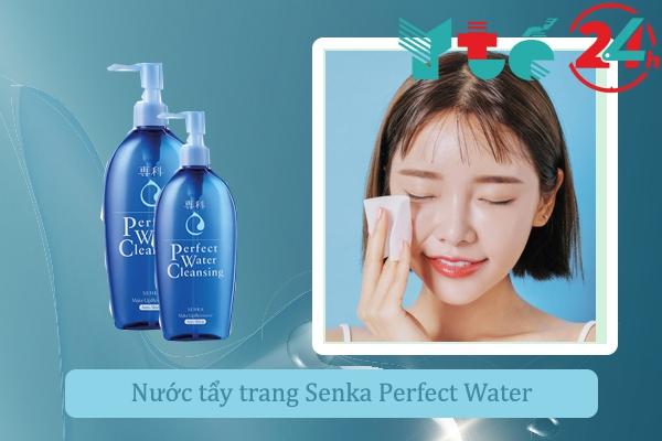 Nước tẩy trang Senka Perfect Water Cleansing