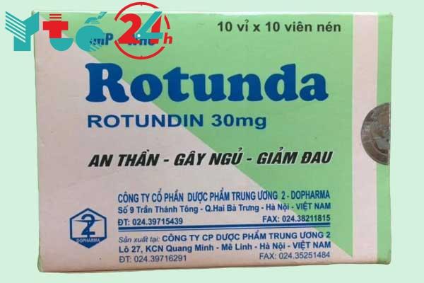 Thuốc trị mất ngủ bằng thảo dược Rotunda