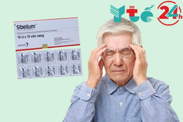 Thận trọng khi sử dụng Sibelium với người già