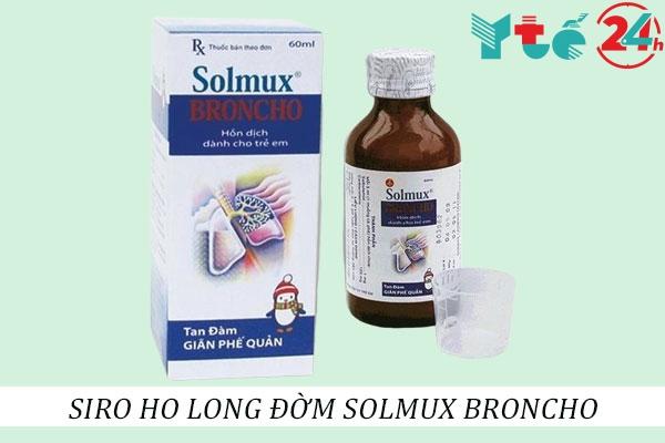 Thuốc long đờm Solmux broncho