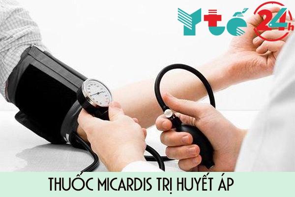 Tác dụng của thuốc Micardis