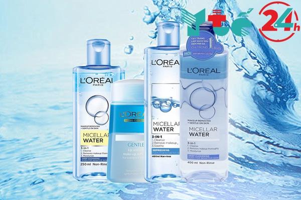 Nước tẩy trang Loreal được bán với giá bao nhiêu?