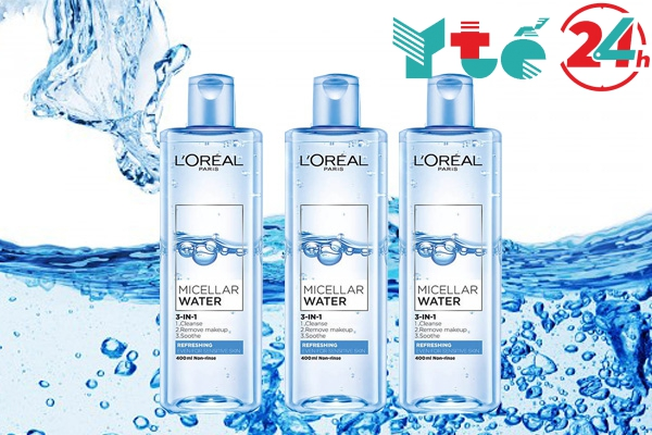 Nước tẩy trang Loreal Paris Micellar Water 3 in 1 Refreshing