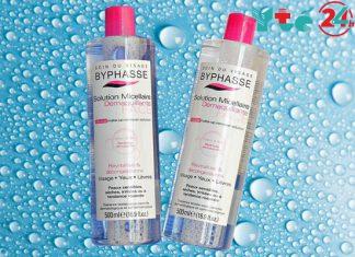 Nước tẩy trang Byphasse - giải pháp an toàn cho da mặt