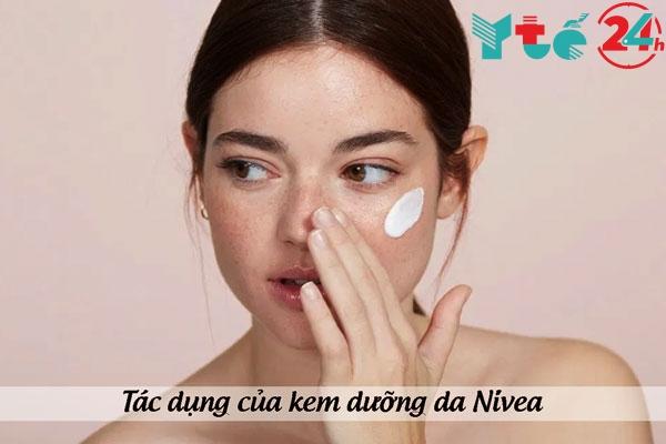Tác dụng của kem dưỡng da Nivea