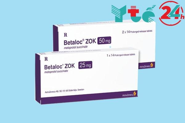 Hướng dẫn sử dụng thuốc Betaloc zok 25mg