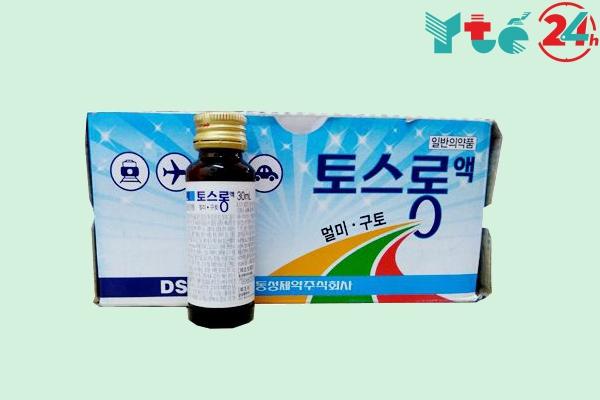 Thuốc chống say tàu xe của Hàn Quốc