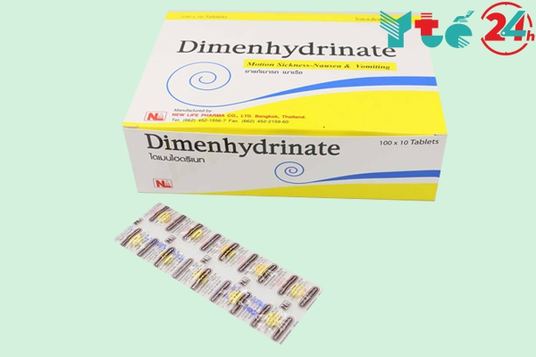 Thuốc chống say xe Dimenhydrinate