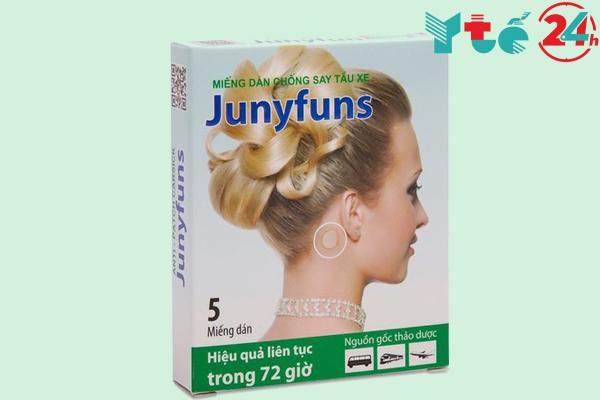 Thuốc chống say xe thảo dược Junyfuns