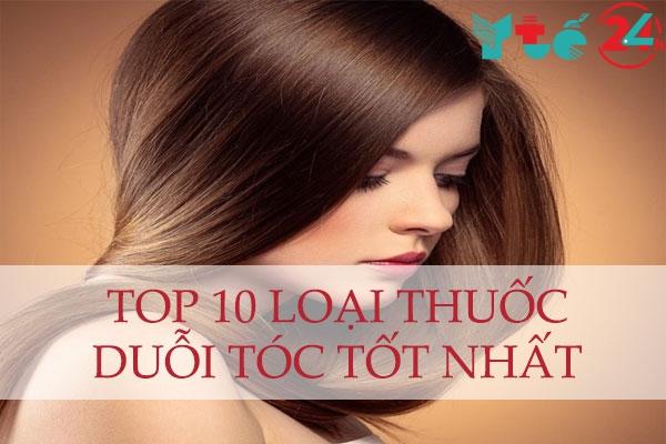 Top 10 loại thuốc duỗi tóc tốt nhất hiện nay