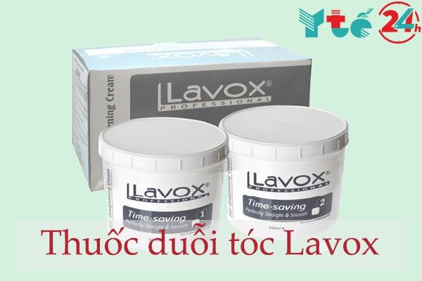 Thuốc duỗi tóc Lavox