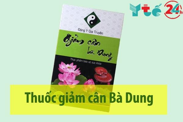 Thuốc giảm cân Bà Dung