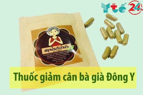 Thuốc giảm cân bà già Đông Y
