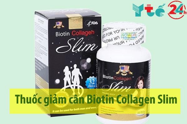Thuốc giảm cân Biotin Collagen Slim