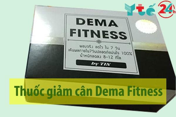 Thuốc giảm cân Dema Fitness Thái Lan