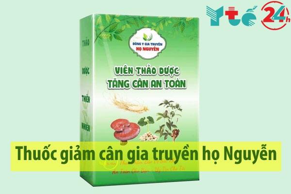 Thuốc giảm cân gia truyền họ Nguyễn