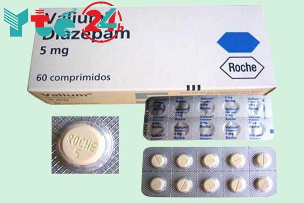 Thuốc trị mất ngủ Diazepam 5mg