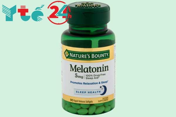 Thuốc ngủ nhẹ Melatonin