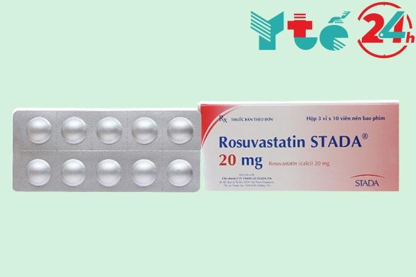 Thuốc Rosuvastatin Stada 20mg