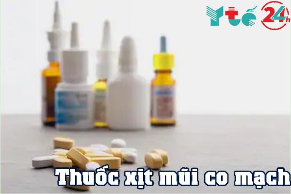 Nhóm thuốc xịt mũi co mạch