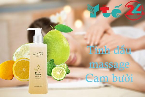 Tinh dầu massage Cam bưởi