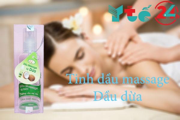 Tinh dầu massage Dầu dừa