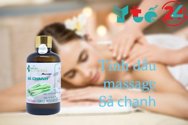 Tinh dầu massage Sả chanh