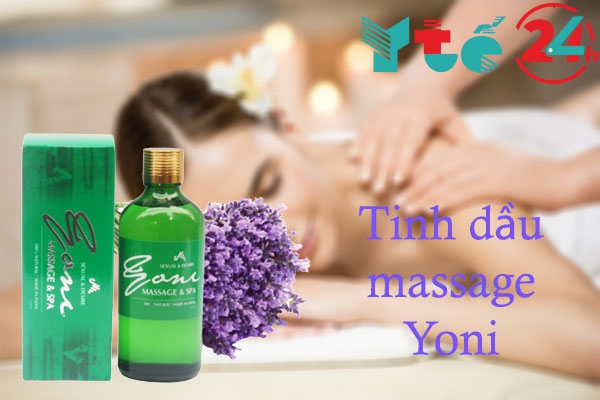 Tinh dầu massage Yoni