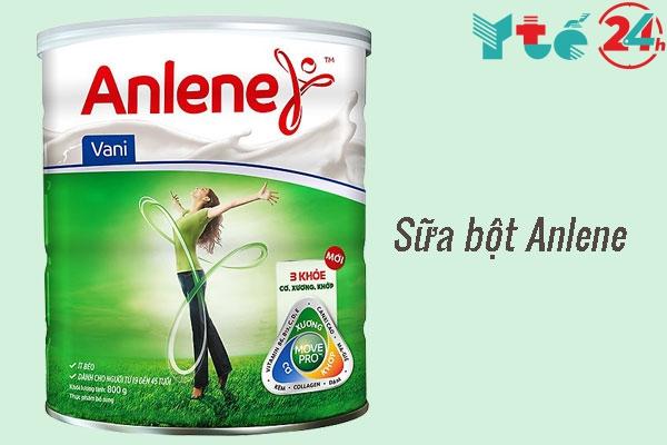 Sữa bột Anlene