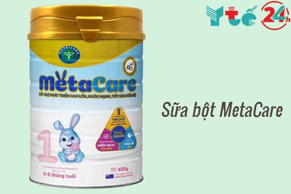 Sữa bột Metacare