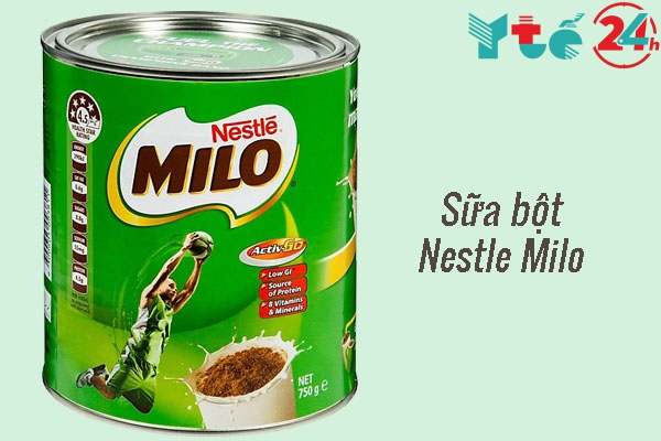 Sữa bột Nestle Milo