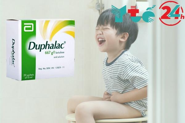 Uống Duphulac bao lâu có tác dụng?