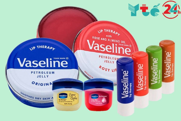 Vaseline dướng môi - giải pháp cho những ngày hanh khô