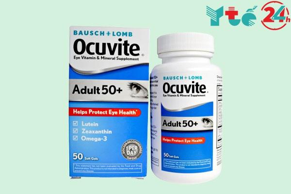 Viên Uống Ocuvite Adult 50+ Cho Người Trên 50 Tuổi Của Mỹ