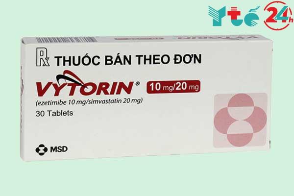 Thận trọng khi dùng thuốc Vytorin